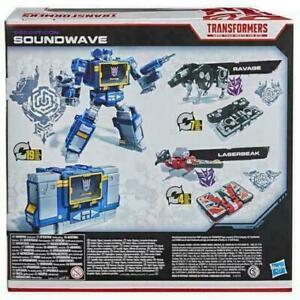 2021 Transformers Netflix War for Cybertron Soundwave