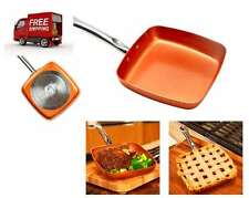 Copper Chef 9.5-Inch Square Nonstick Fry Pan Cook Kitchen Cookware AS SEEN ON TV