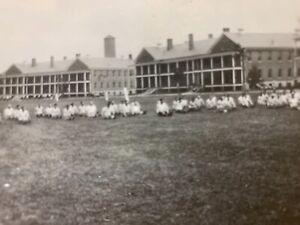 Vintage WWII Photos Solders Buildings FORT BENJAMIN HARRISON Indiana Base Camp
