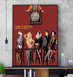 A Fever You Can't Sweat Out (by Panic! At the Disco) Album Cover Poster Print
