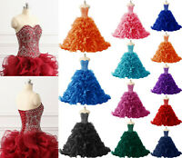 Princess Prom Party Evening dresses Sweetheart 16 Quinceanera Pageant Ball Gowns