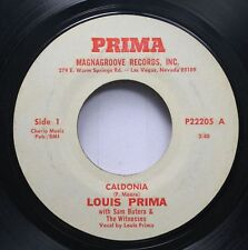 Pop 45 Louis Prima - Caldonia / Just A Gigolo On Magnagroove Records