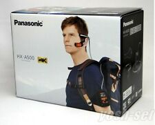 New Panasonic HX-A500 Wearable 4K POV Camcorder Gray From Japan EMS Shipping