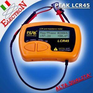 ESR Milliohmmetro Capacimetro Tester Capacitor Analyser Multimetro PEAK ESR70