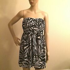 XXI Sheer Women's Lined Strapless Dress Bra Top Size Small Juniors multi color