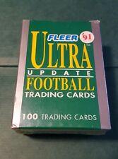 1991 Fleer Ultra Football Update Set Brett Favre RC Packers Ed McCaffrey Rookie