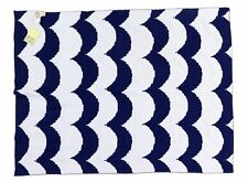 Harper Canyon Blue Micro Waves Knit Baby Blanket Security Blanket 154955