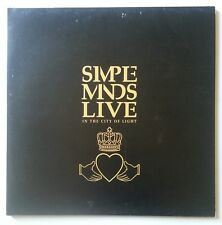 Simple Minds - Live In The City Of Light - 1980 UK 2x Vinyl Gatefold Album