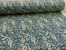 WOODLAND FLORAL ++ DRESDEN ++ COTTON PRINT FABRIC by ROSE & HUBBLE