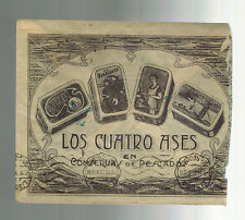 1935 Vigo Spain Illustrated Advertising Cover to Lisbon Portugal Fish Factory