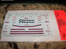 Pisano Brothers Olsmobile Funny Car - NHRA Decals Slixx #1010