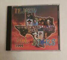 """TEJANO ALL STARS: """"Tejano All Stars 1999"""" 1999 EMI Latin CD"""