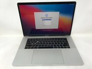 MacBook Pro 15 Touch Bar Silver Late 2016 2.9GHz i7 16GB 2TB - Fair - Key Wear