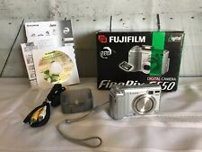Fujifilm Finepix E Series E550 6.3MP HD Digital Camera 4x Optical Zoom Lens Box