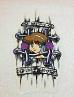 BIRDHOUSE Skateboards Hook Ups Animae Girl Jail Vintage Skateboarding STICKER