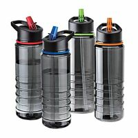 BPA Free Flip Straw Tritan Drinks Sport Hydration Water Bottle Cycling Hiking