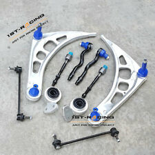 For BMW E46 Z4 Front Wishbone Control Arms Tie Rods Bushes Sway Bar Links Kit