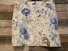 Globe Trotter Clothing of Bali  WOMENS A-Line Skirt,FLORAL SIZE XL POCKETS M002