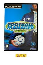 Football Manager 2006 PC Game Sports Soccer Simulation Management
