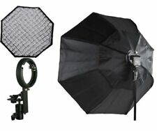 "48"" Octagon Soft BOX HoneyComb Eggrate Flash Mounting for Nikon Canon Flashes"
