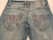 womens republic crafted blue bootcut jeans size 8
