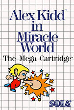 Framed Print - Alex Kidd in Miracle World SEGA Master System (Man Cave Picture)