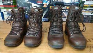 Leather alt-berg  Combat Boots x 2 job lot