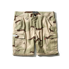 Fashion Pocket Design Solid Five Pants - Khaki (CHG070679)