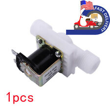 1pcs 12 Solenoid Electric Valve For Water Air Switch Nc Normally Closed