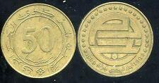 ALGERIE  ALGERIA  50 centimes 1988     ( etat )