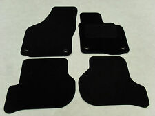 VW Golf MK5 R32 2004-09 Fully Tailored Deluxe Car Mats in Black