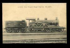 RAILWAY GER 4 Coupled Bogie Express Engine 1870 PPC