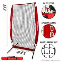 PowerNet I-Screen Pitching Protection Net for Softball Baseball includes Frame