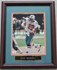 DAN MARINO NFL MIAMI DOLPHINS UNSIGNED FRAMED PHOTO