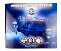 Chicago Sun-Times Chicago Bears 20th Anniversary Medallion Collection x25 Coins