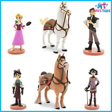 Disney Tangled: The Series Rapunzel 6 piece Figure Figurine Play Set cake topper