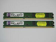 8GB Kingston ( 2x4GB) RAM Arbeitsspeicher 1333MHz 10600U DDR3 KVR1333D3N9K2/8G