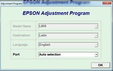 Reset Epson L605, L606 Reset ink pads counter