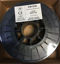 1 bobina 2 Kg Alambre de Aluminio 5183 para Soldadura MIG 1,0mm ALMg4,5Mn0,7
