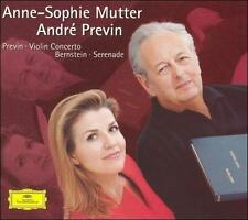 Previn: Violin Concerto; Bernstein: Serenade (CD, Oct-2003, DG Deutsche...