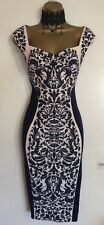 NWT Lipsy Illusion Fitted Weddin Day Mother Of Bride Party Dress Sz  UK 8, 10