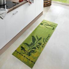 Lavable Cuisine coureur Vert Olive 50x150 cm 102448