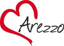 """Adesivo per auto """" AREZZO """" (Città) cuore Sticker ca.9x13 cm taglio contorno"""