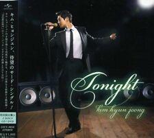 KIM HYUN JOONG-TONIGHT (TYPE-A) -JAPAN CD + DVD Ltd / Ed D50