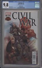 Civil War #2 - Coipel Variant - Cgc 9.8 - 0270075016