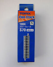 Tomix N Scale 1804 70mm Straight Track S70(F) 4 Pcs