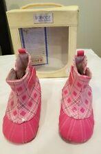 Robeez Girls Mini Shoez Rain Boots size 6-9 months