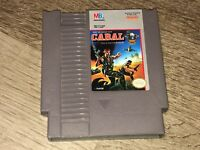 Cabal Nintendo Nes Cleaned & Tested Authentic