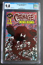 CARNAGE: MIND BOMB #1 Red FOIL 1st Cletus Kasady SOLO title 1996 Venom CGC 9.8
