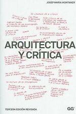 Arquitectura y crítica. NUEVO. Nacional URGENTE/Internac. económico. ARQUITECTUR